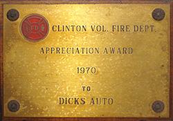 Dick's Auto has played an active role in the community for many years